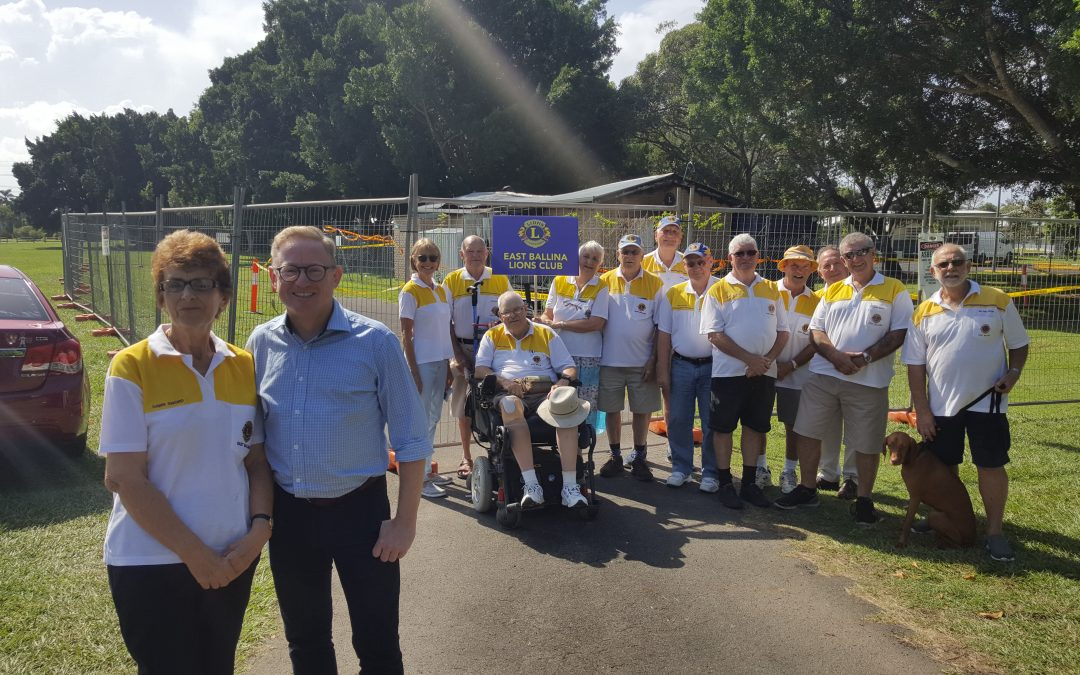 EAST BALLINA LIONS TO REBUILD WITH NSW GOVERNMENT ASSISTANCE