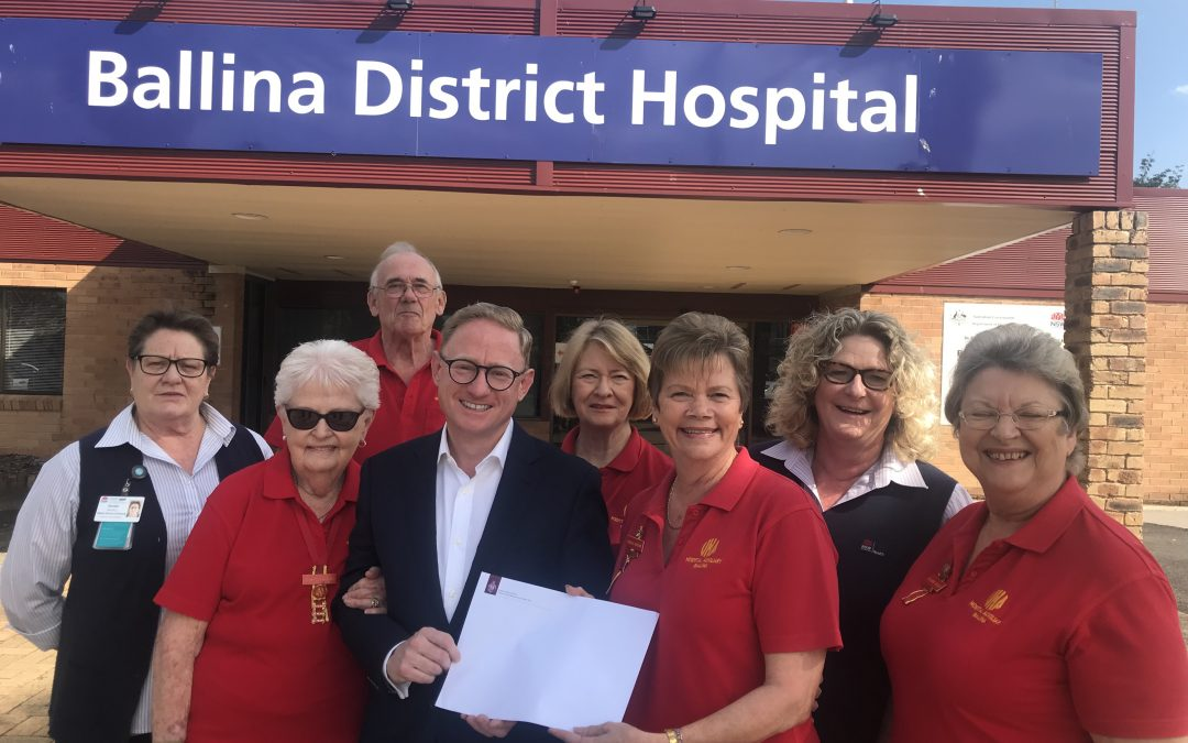 NSW LIBERAL & NATIONALS SUPPORT BALLINA HOSPITAL AUXILIARY