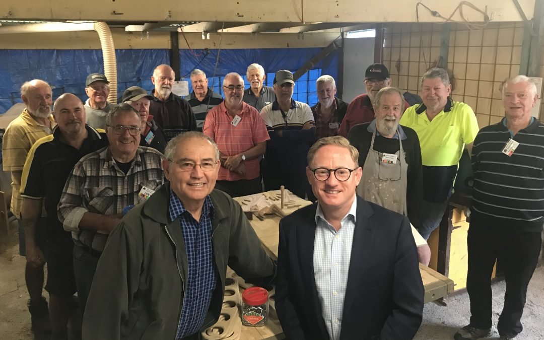 PIECES COME TOGETHER FOR BALLINA MEN'S SHED