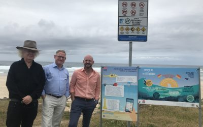 MORE SHARK SAFETY MEASURES FOR NORTH COAST