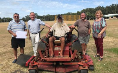 NEW MOWER ON ITS WAY FOR WARDELL SPORTS GROUND