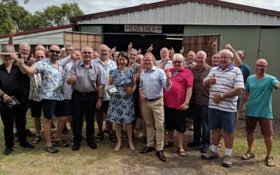 LIBERALS & NATIONALS DELIVER FUNDING FOR NEW BALLINA MEN'S SHED