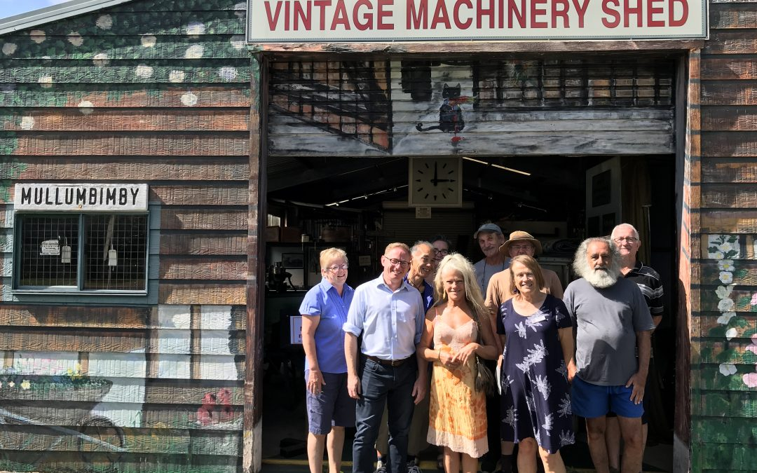 BRUNS HISTORICAL SOCIETY RECEIVES  NSW GOVERNMENT SUPPORT