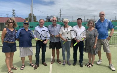 LIGHTING UP BALLINA TENNIS CLUB
