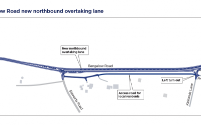 LISMORE TO BANGALOW ROAD SAFETY WORK ON TRACK