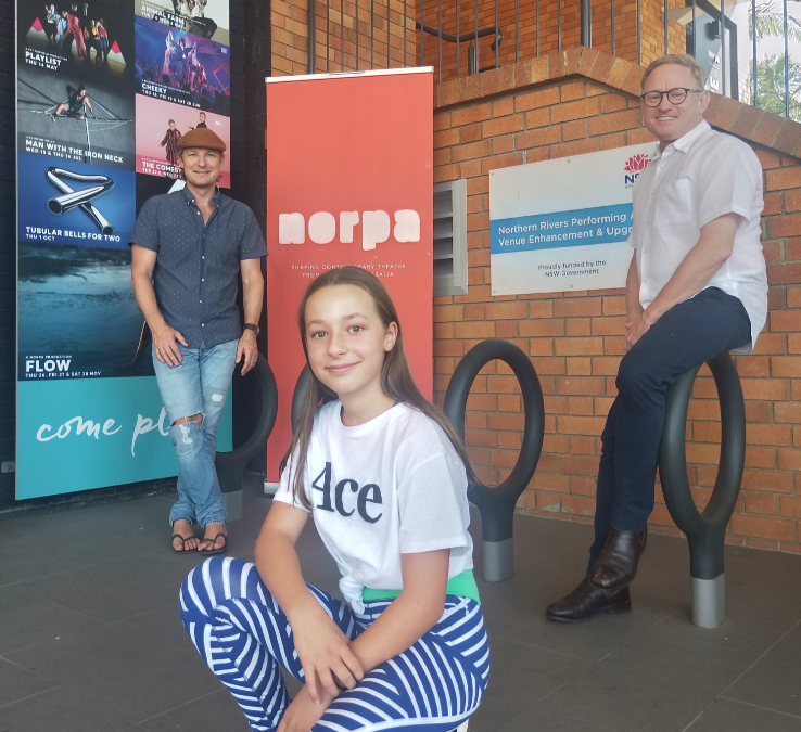 NORPA GRANT FOR YOUTH THEATRE HUB