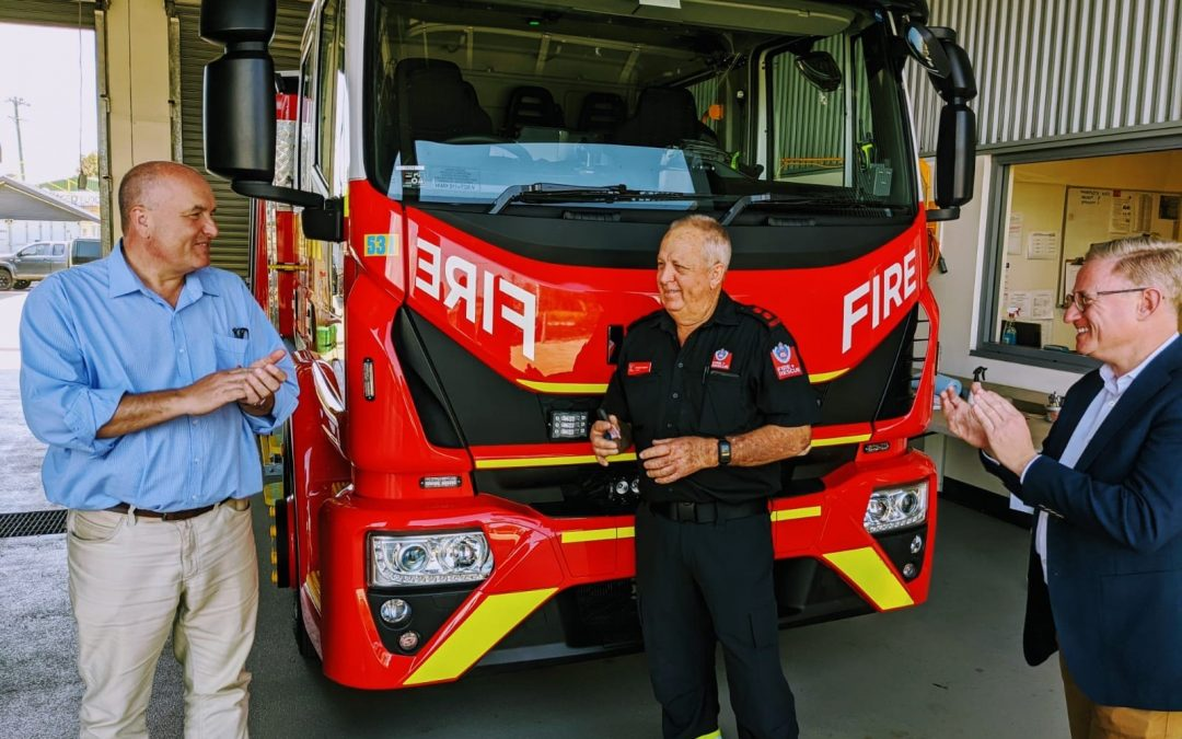 NEW EQUIPMENT FOR BALLINA EMERGENCY SERVICES