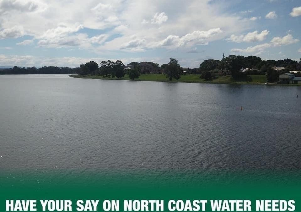NEW WATER STRATEGY TO PREPARE REGION FOR FUTURE, SAY NORTH COAST NATIONALS MPS