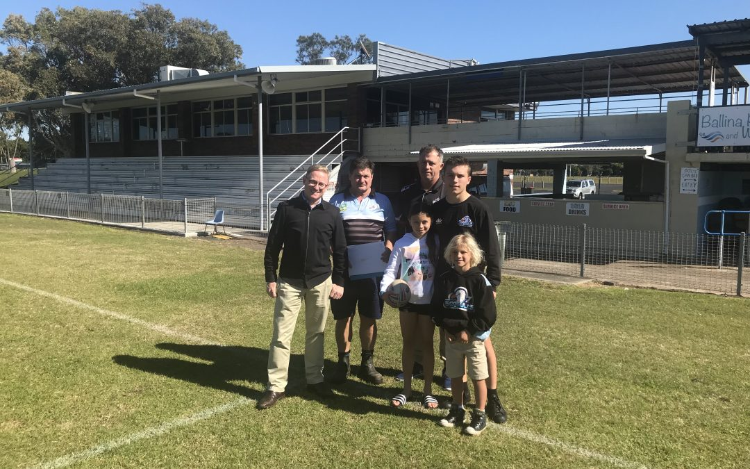 NSW GOVERNMENT RAISES THE ROOF FOR BALLINA SEAGULLS