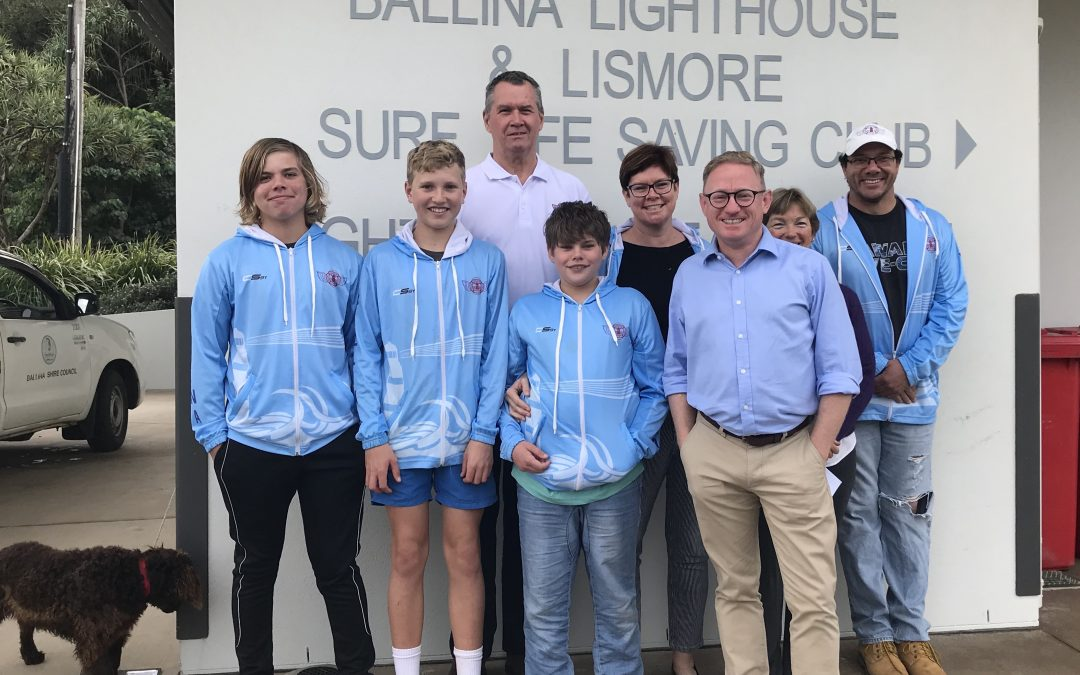 BALLINA SURF LIFE SAVERS TO GET RIPPED WITH NSW GOVERNMENT FUNDING