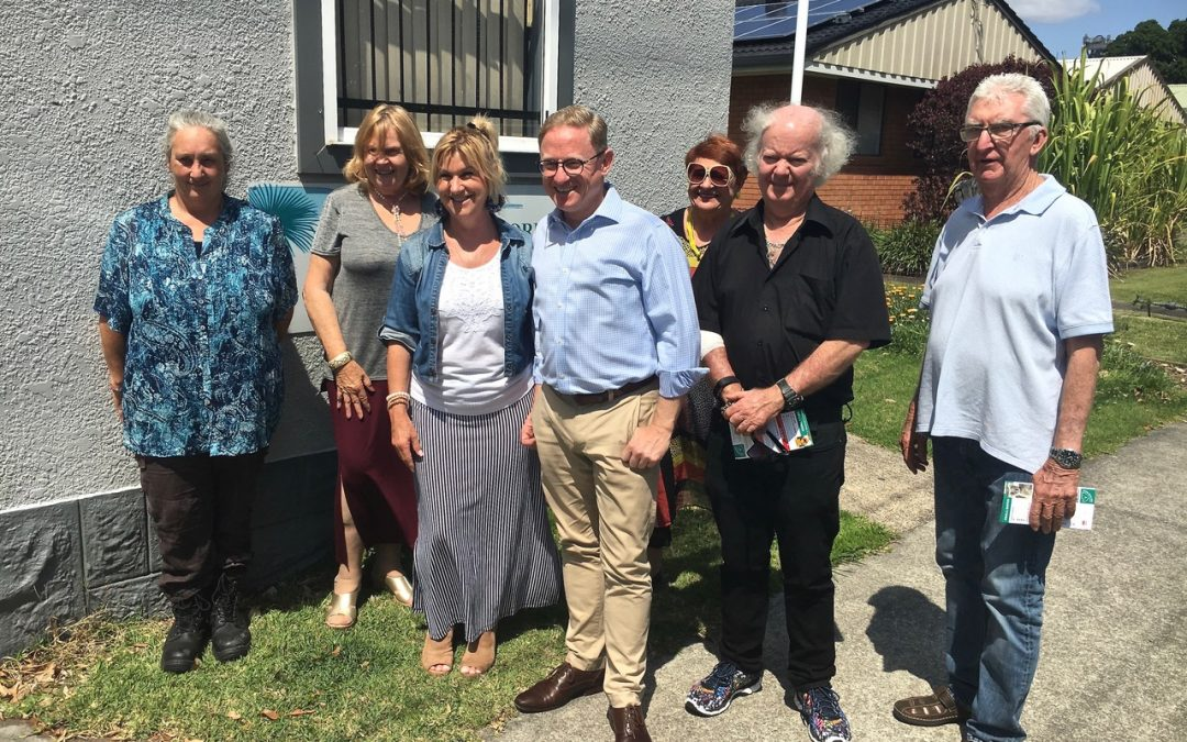 WARDELL HALL SET TO SHINE WITH NSW GOVERNMENT POLISH