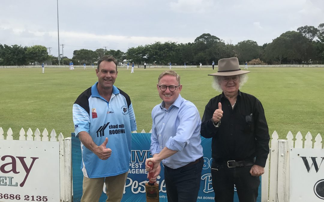 FRIPP OVAL FINALLY GETS A NEW FENCE