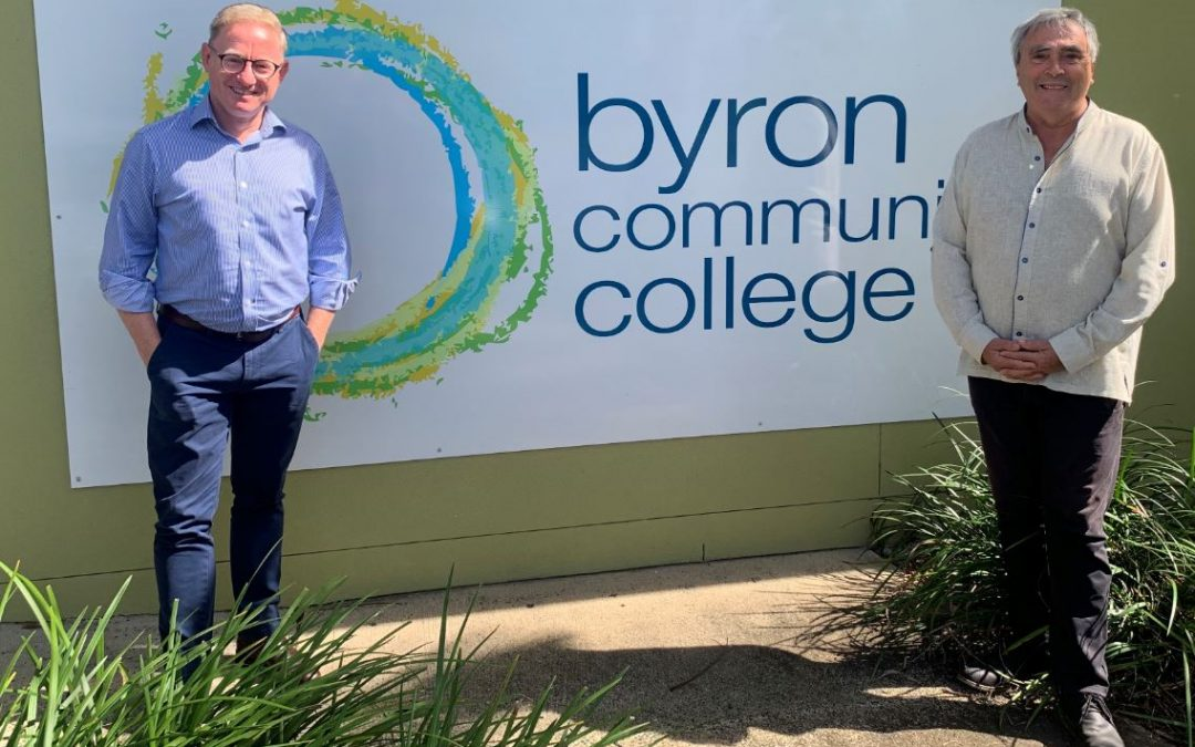 Support for the Byron Region and North Coast Community Colleges
