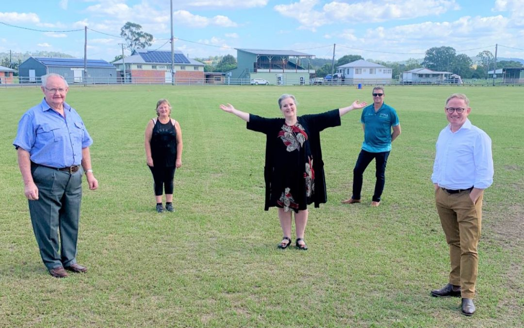 Kyogle community set to benefit from $750,000 in funding