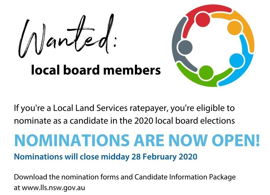 LLS BOARD NOMINATIONS NOW OPEN