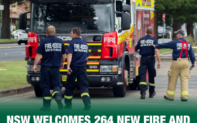 BALLINA AND LISMORE ELECTORATES WELCOME 10 NEW FIREFIGHTERS