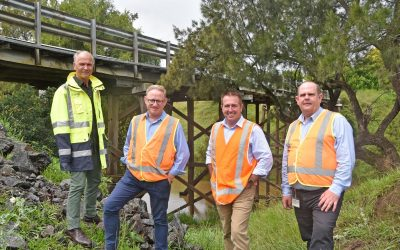 LISMORE CITY COUNCIL RECEIVES NEARLY $10 MILLION TO UPGRADE LOCAL BRIDGES