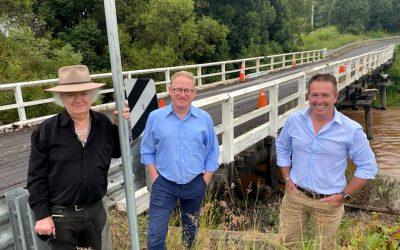 A NEW BRIDGE FOR PEARCES CREEK