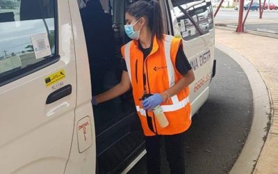 TEMPORARY VEHICLE SANITISATION STATIONS HELP KEEP NORTHERN RIVERS COVID-SAFE