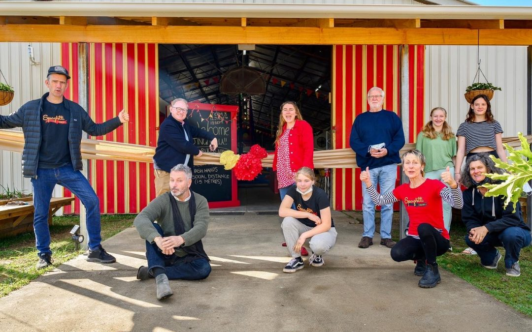 JUMPING FOR JOY: NEW SPACE AND MORE FUNDING FOR SPAGHETTI CIRCUS