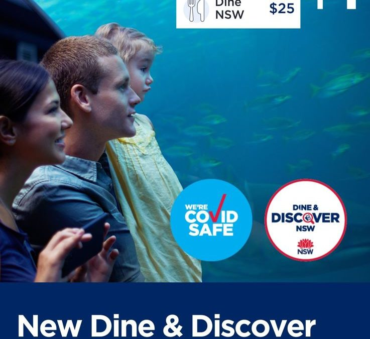 NEW DINE & DISCOVER VOUCHERS COMING SOON